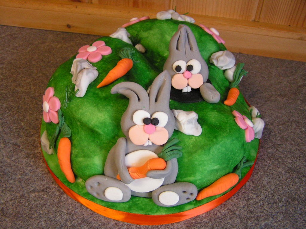 Nyuszik a tortán